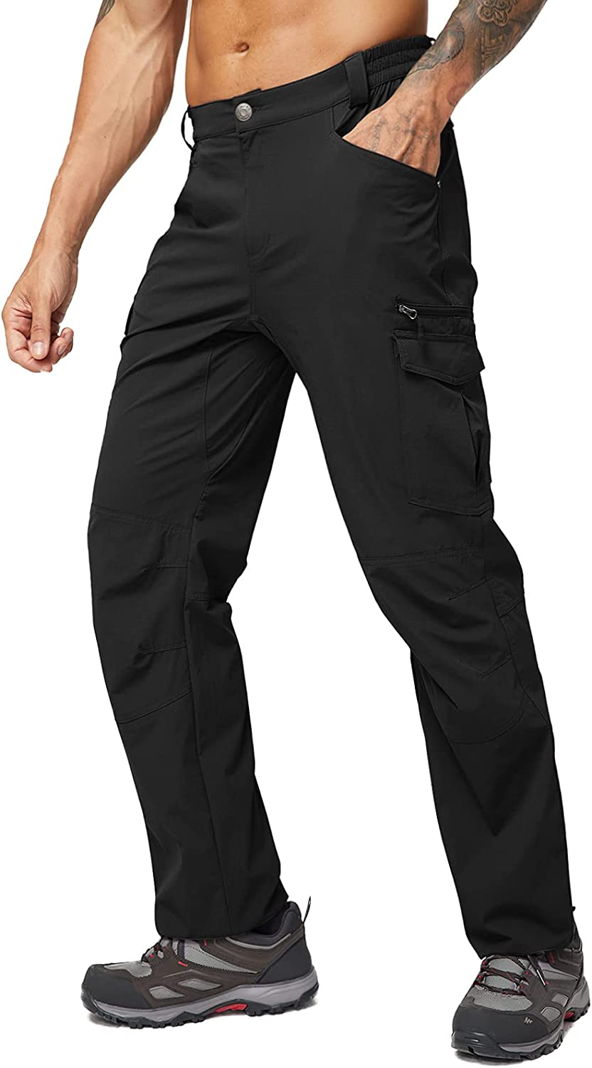MIER Mens Quick Dry Lightweight Pants Stretch Outdoor Rip Hiking Ultra-Cheap Deals Limited price