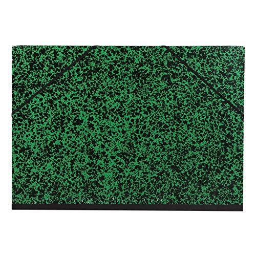 Clairefontaine 93244C Cartella Portadisegno con Elastico, 52 x 72 cm, Verde