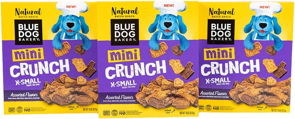 Blue Dog Sales Bakery Natural Treats Inexpensive Crunch Assorted Flavor Mini