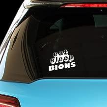 PressFans - EAT Sleep BIONS Car Laptop Wall Sticker Decal