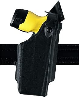 Safariland 6520 EDW Holster SLS and Adjustable Angle, Clip-On Belt Loop, Black, STX Basketweave, Taser X26