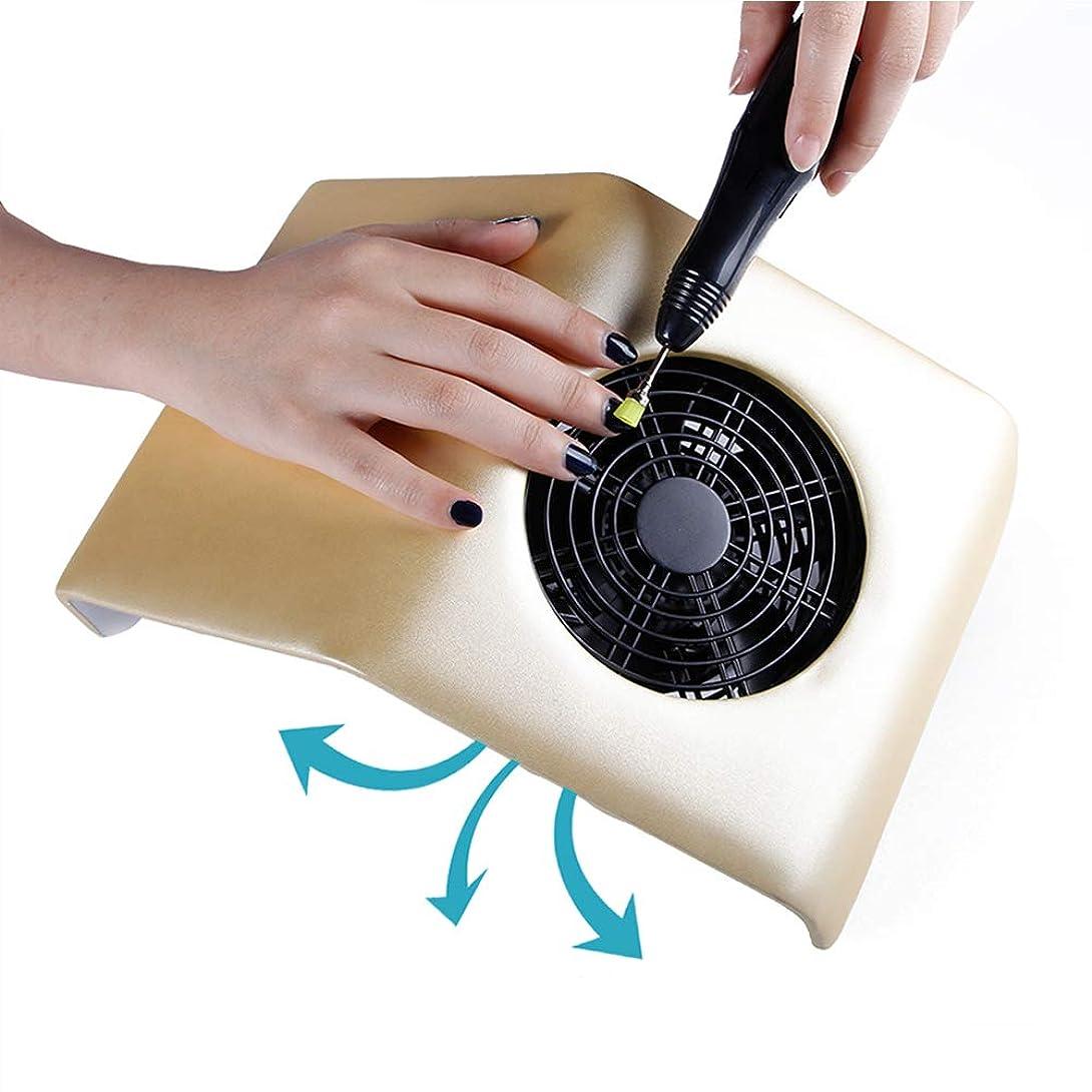 見積りガード冷笑するアクリルのゲルの釘のために再充電可能な携帯用釘の集じん器