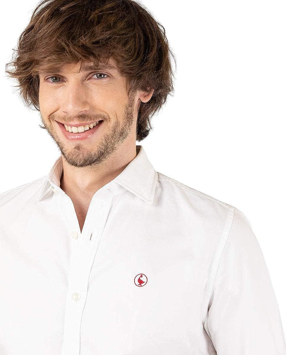 El Ganso Camisa Panama Royal Blanco Casual