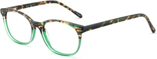 Women Rectangle Stylish Non-prescription Eyewear Frame With Clear Lenses
