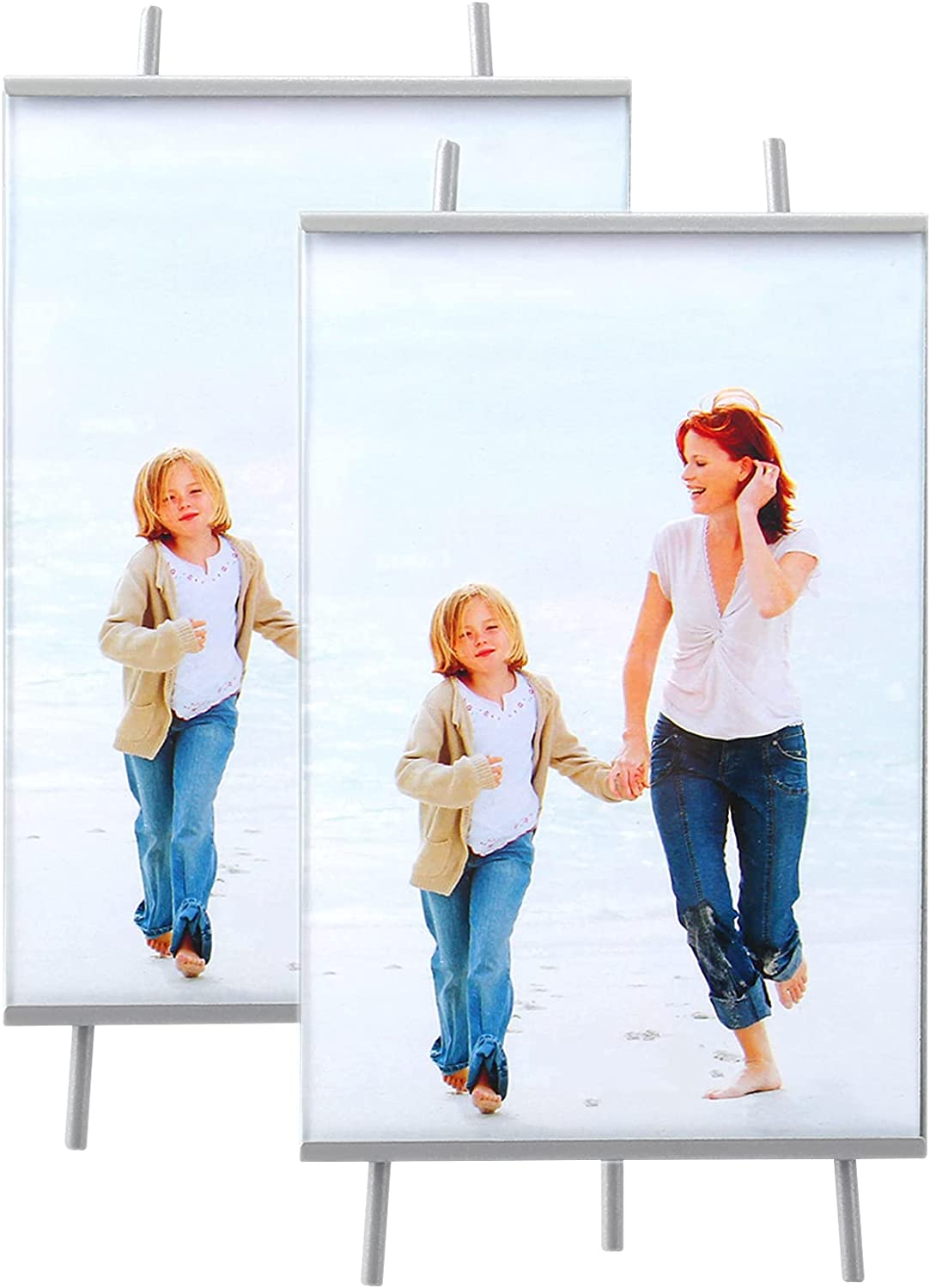 Evron High-Definition Glass Photo Frame with Modern and Simple D