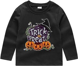 1-5Years Toddler Baby Kids Boys Girls T-Shirt Halloween Pumpkin Sweatshirt Pullover Long Sleeve Tops Blouse