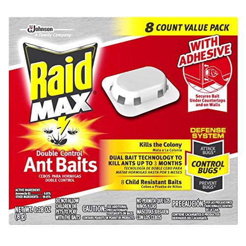 اسعار Raid Max Double Control Ant Baits 8