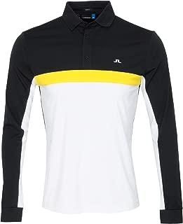 J Lindeberg Ethan TX Jersey+ Polo Black/Yellow