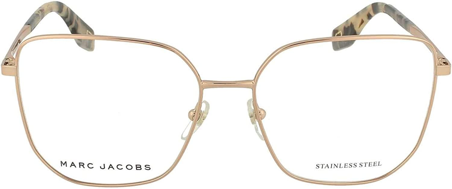 Eyeglasses Marc Jacobs 370 0DDB Demo 00 Lens Gold Now free shipping Rare Copper