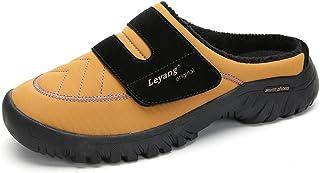 INMINPIN Pantofole Uomo Invernali Donna Scarpe Inverno All'aperto Caldo e Morbide Ciabatte Impermeabile Antiscivolo Pantof...