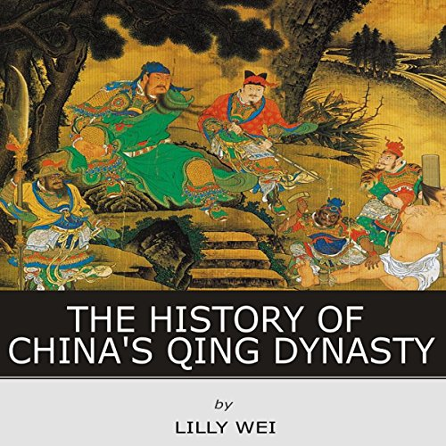The History of China's Qing Dynasty audiobook cover art