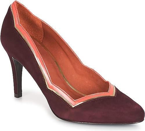 ANDRé PIERA zapatos de tacón mujeres Burdeo zapatos de tacón