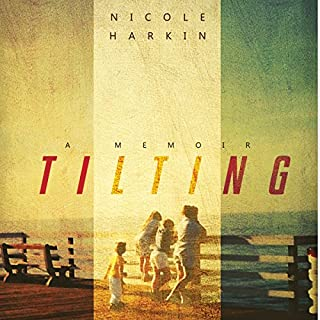 Tilting audiobook cover art