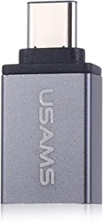 MINI USAMS TYPE-C TO USB 3.1 OTG DATA CONNECTOR ADAPTER GREY