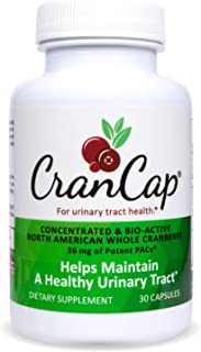 Sponsored Ad - CranCap Cranberry Supplement for Urinary Tract Health | 36mg PAC | Powerful Urinary Tract Infection Prevent...