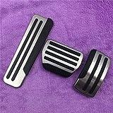 JNXZHQC Accesorios Decorativos del Pedal del Acelerador del automóvil.para Nissan TEANA Qashqai X Trail Xtrail 2010 2013 Accesorios