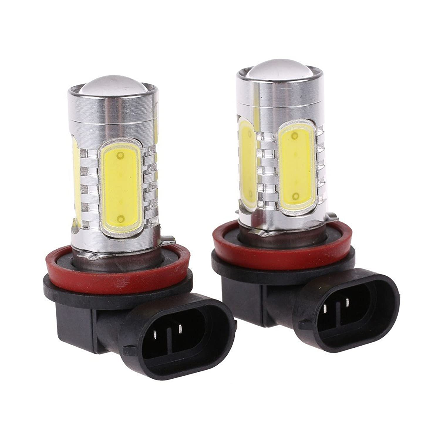 LED Fog Light Bulb Replacements - Extremely Amber Yellow LED Lights Bulbs for Fog Light Lamps Replacement [H11, H16, H8, H9]