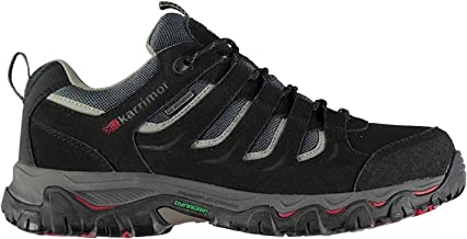 Karrimor Mens Mount Low Walking Shoes Lace Up Waterproof
