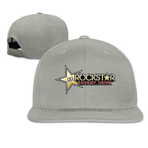 cce1d6b1736 TOTAGASO-HAT Cool Rockstar Adjustable Baseball Cap (8 Colors)
