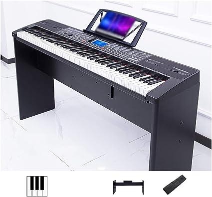 yankai Teclado Electrónico Portátil De 88 Teclas Piano ...