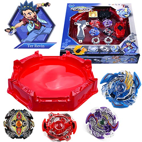 Burst Battle Metal Fusion Evolution Attack Set with and Star Storm Battle Set and Arena Included
