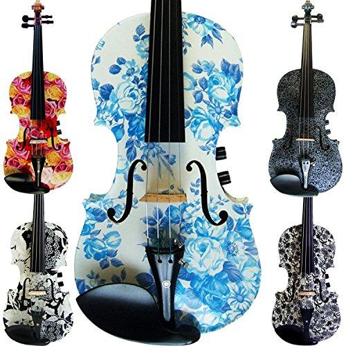 Aliyes hecho a mano mujeres/Gril eléctrica y acústica violín 44tamaño completo para...