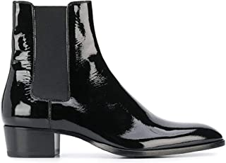 SAINT LAURENT Luxury Fashion Mens 4432131LA001000 Black Ankle Boots |