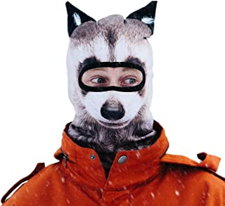 Beardo Balaclava Ski Mask, Raccoon