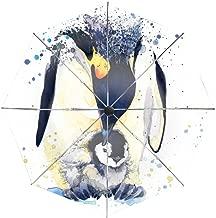 Cute Penguin Compact Travel Umbrella Auto Open/Close