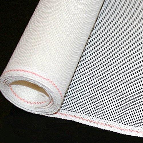 Needlepoint Blank Canvas ZWEIGART Mono Deluxe Orange Line - Priced Per 1 Yard - Low Price Guarantee (18)