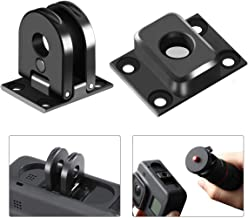 Tripod Mount Adapter for Gopro Hero 8/Max, 2 PCs Mount Base Compatible with 1/4 Screw Tripod Universal Action Camera Adapter Monopod