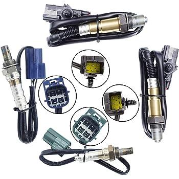 X AUTOHAUX Air Fuel Ratio O2 Oxygen Sensor Replacement Upstream Downstream for Nissan 350Z 2003-2004 226905W900 250-24450