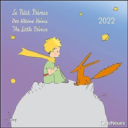 Calendrier 2022 Petit Format CALENDRIER 2022 LE PETIT PRINCE   Saint Exupéry  conte   prince