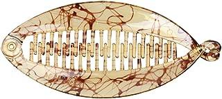 Fermaglio per capelli a pesce, forma a bilanciere