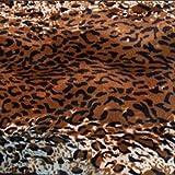 kissenwelt.de Kunstfellstoff Meterware Lux, Jaguar,