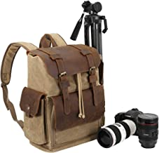 Endurax Canvas Camera Backpack for Photographers...