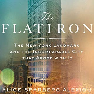 The Flatiron audiobook cover art