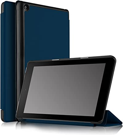 IVSO Fire HD 8 2017 Case - Ultra Lightweight Slim Smart Cover Case for Fire HD 8 2017 Tablet(Blue)
