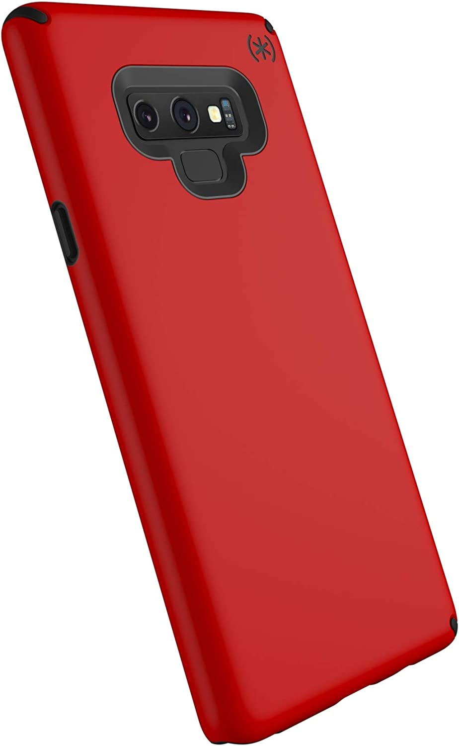 Speck Products Compatible Phone Case for Samsung Galaxy Note 9, Presidio Pro Case, HeartRate Red/Black