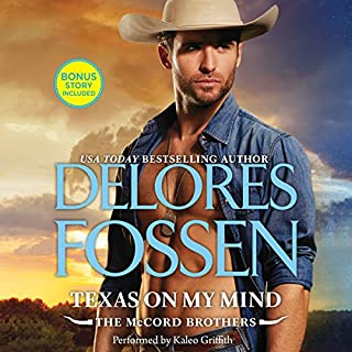 Texas on My Mind audiobook cover art