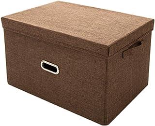 LNSTORE 33 * 23 * 18cm Boîte de Rangement Non tissé Non tissée Sundries Boîte de Rangement Pliable Toy Box Panier de Stock...