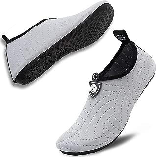 Unisex Quick Drying Aqua Water Shoes Pool Beach Yoga Exercise Shoes for Men Women
