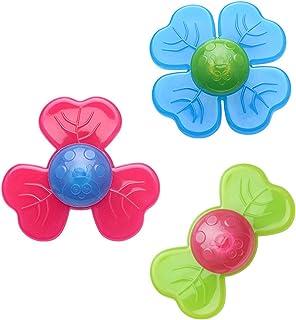 Main Doigt Gyro Jouet Sensoriel pour Lanxi/ét/é TDAH Soulagement du Stress B/éb/é Tri Fidget Hand Spinner Toy pour Enfants Adultes Ventouse Spinning Top Gadget Sensoriel 3PCS // Set Fidget Spinner Toy