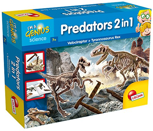 Lisciani Giochi - 56408 I'm a Genius Juego Predators 2 en 1