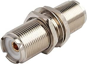Eightwood 2pcs SO239 Adapter UHF Female to Female Jack Bulkhead RF Connector