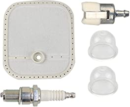 Hipa 528074701 Air Filter Spark Plug Primer Bulb for RedMax Red Max BCZ230TS BCZ2450S BCZ2460S BCZ260TS BCZ2650S BCZ2660TS BCZ3050S BCZ3060TS CHTZ2460 HTZ2460 Trimmer Brushcutter