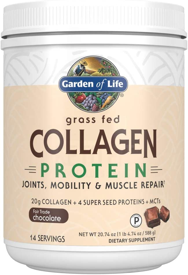Dallas Mall Garden Save money of Life Grass Fed Collagen Powder 14 - Protein Chocolate