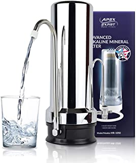 APEX Quality Countertop Drinking Water Filter – 5 Stage Mineral Cartridge –..