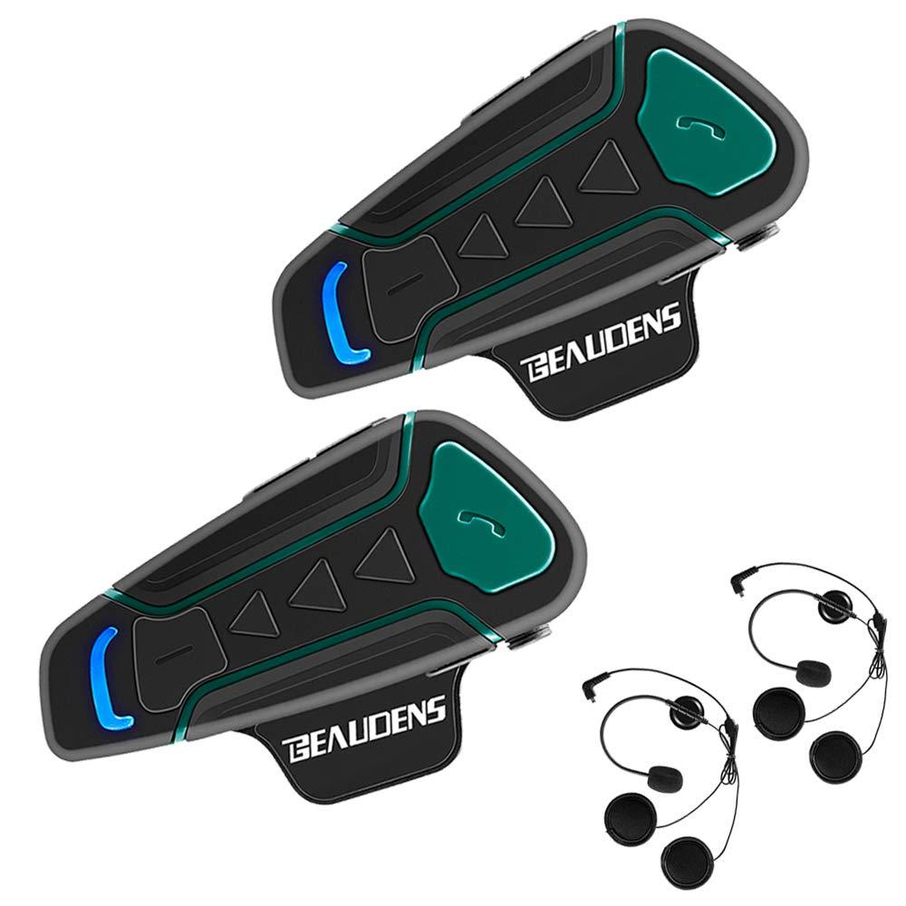 BEAUDENS Bluetooth Motorcycle Communication Waterproof