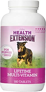 Health Extension Lifetime Vitamins For Puppies And Dogs